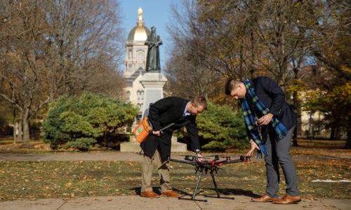 Defibrillators by drone
